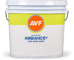 <strong>Ambience®</strong><br/> LOW ODOR paint