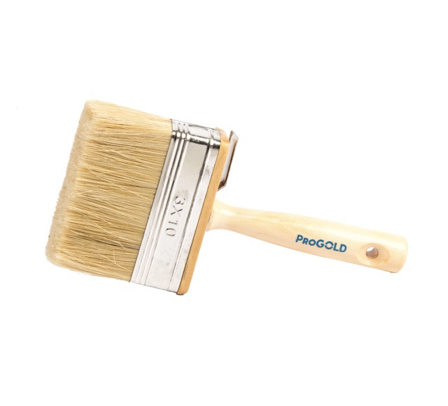 ProGold 6240 large masonry brush wood handle 3x10