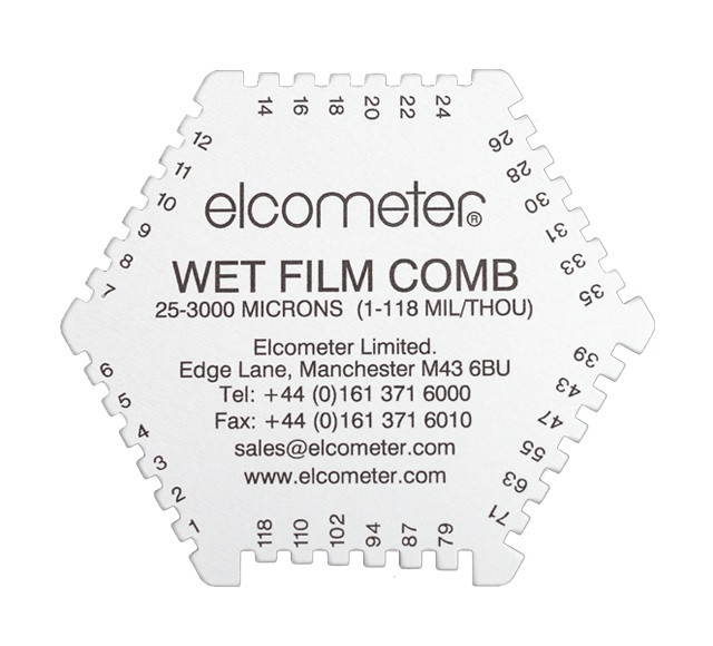 Elcometer Hexagonal Wet Film Comb