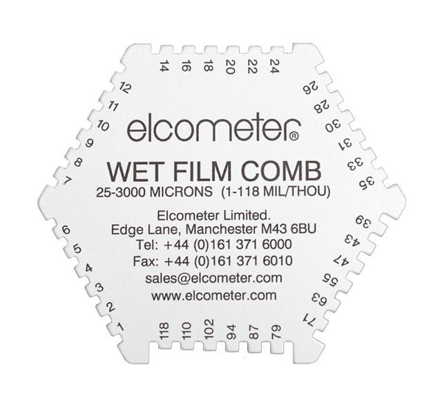 Elcometer Hexagonal Wet Film Comb