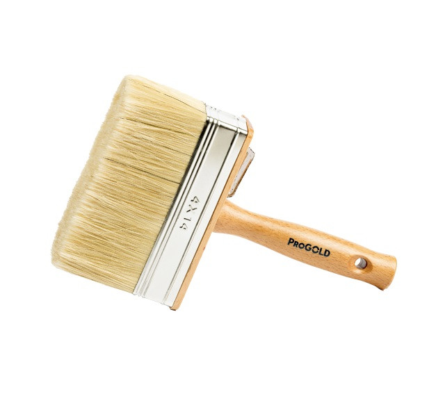 ProGold 6240 large masonry brush wood handle 4x14